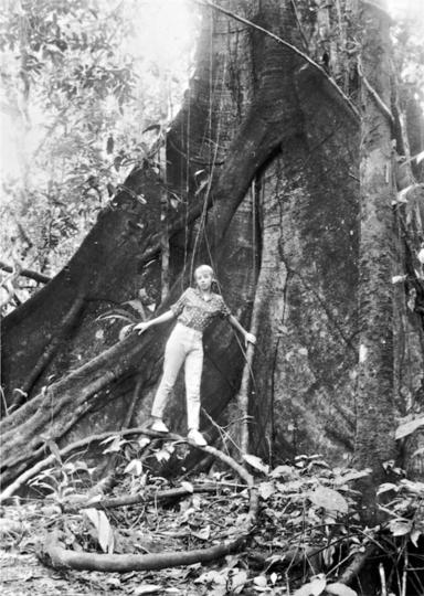 """Джулиана Кёпке не испугалась вернуться в тропический лес уже на следующий год после авиакатастрофы. Фото предоставила Juliane Diller, """"Metro"""""""