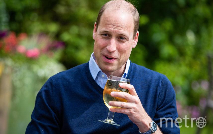 Принц Уильям посетил местный паб в графстве Норфолк. Фото Getty