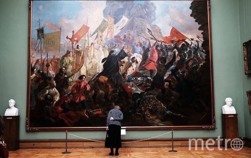 Третьяковская галерея была закрыта в середине марта из-за эпидемии коронавируса в стране. Фото Getty