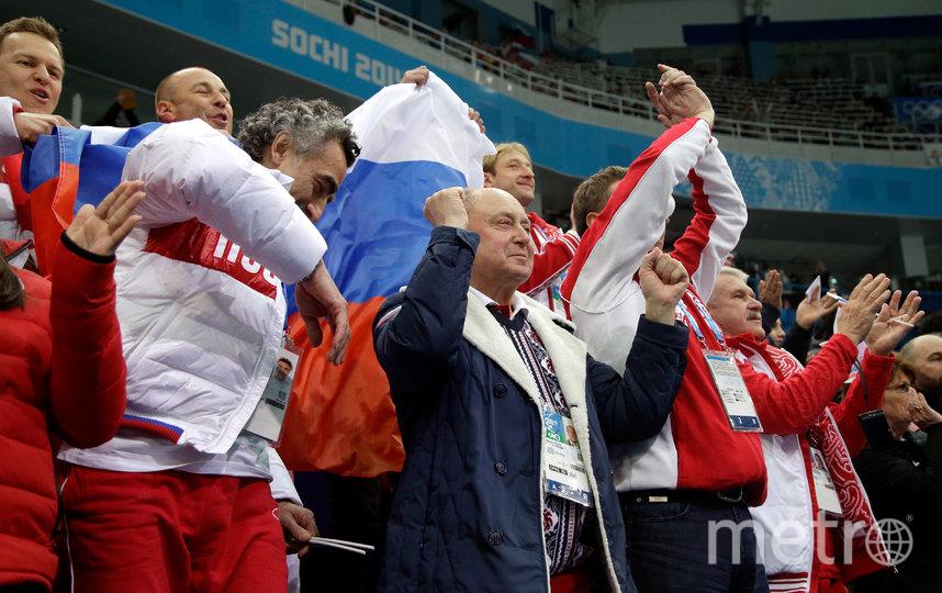 Алексей Мишин (в центре). Архивное фото. Фото Getty