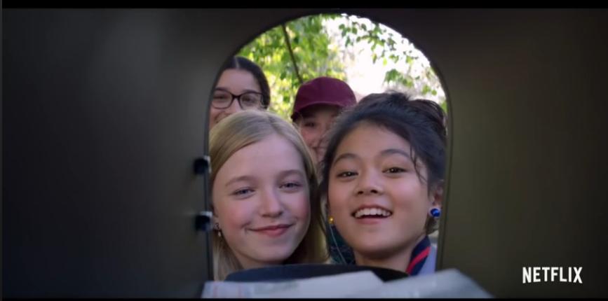 """Кадр из сериала """"Клуб нянь"""". Фото Netflix, """"Metro"""""""