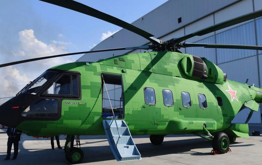 Вертодром сможет принимать как легкие и средние вертолеты, так и тяжелые борта, в том числе AW139 и МИ-38. Архивное. Фото rostec.ru