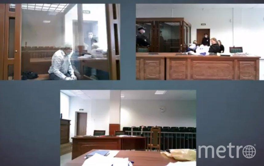 Заседание в суде проходит в понедельник, 6 июля. Фото Фото скрин-шот, Скриншот Youtube