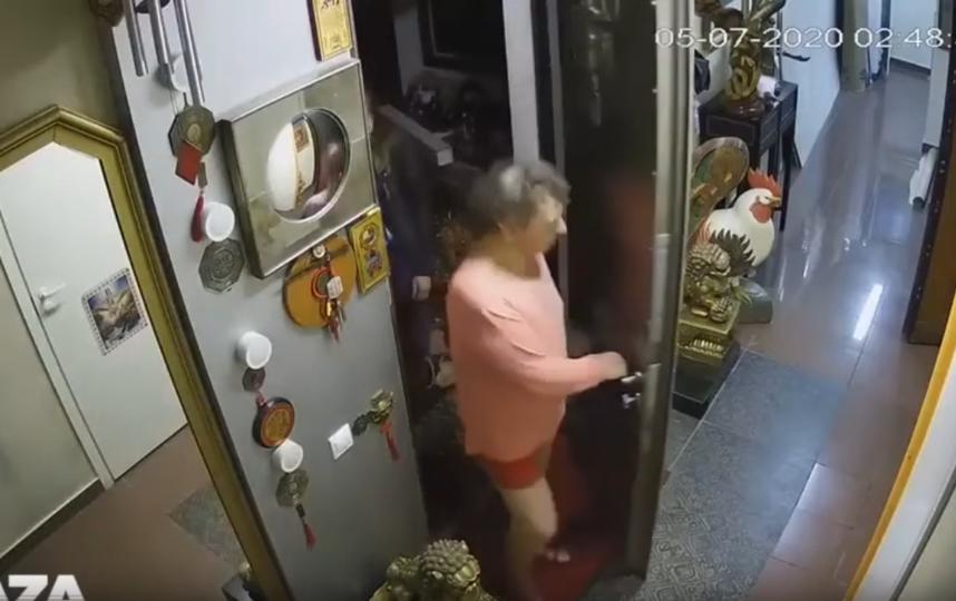 Видео с камер наблюдения в доме Сергея подтверждает его версию. Фото Скриншот телеграм-канал Baza