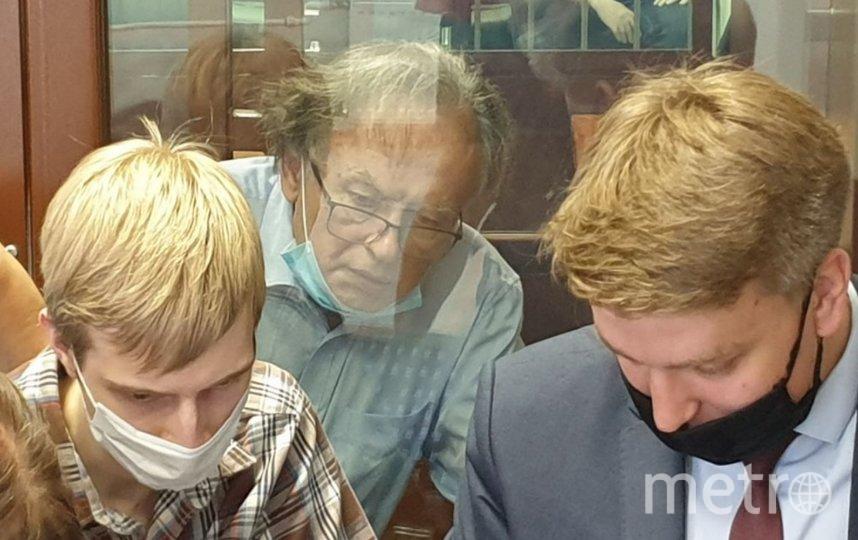 Следующее заседание по делу Соколова состоится 8 июля. Фото Объединенная пресс-служба судов Петербурга.