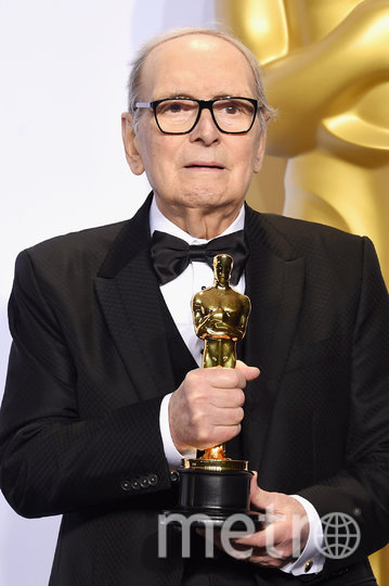 "Эннио Морриконе обладатель двух премий ""Оскар"". Фото Getty"