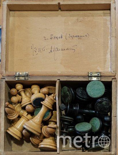"""Шахматы, привезённые из Германии, стали семейной реликвией. Фото из личного архива Татьяны Кагановской, """"Metro"""""""