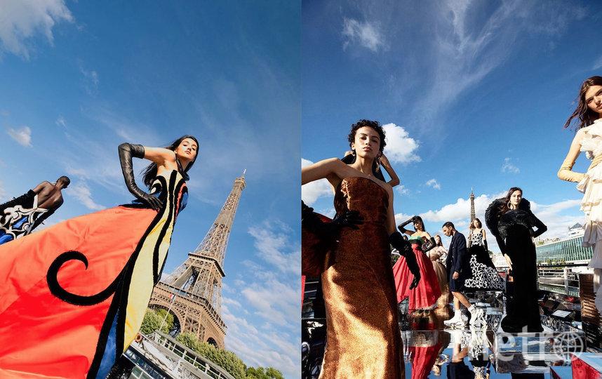 Кутюрное шоу Balmain в Париже. Фото instagram.com/olivier_rousteing
