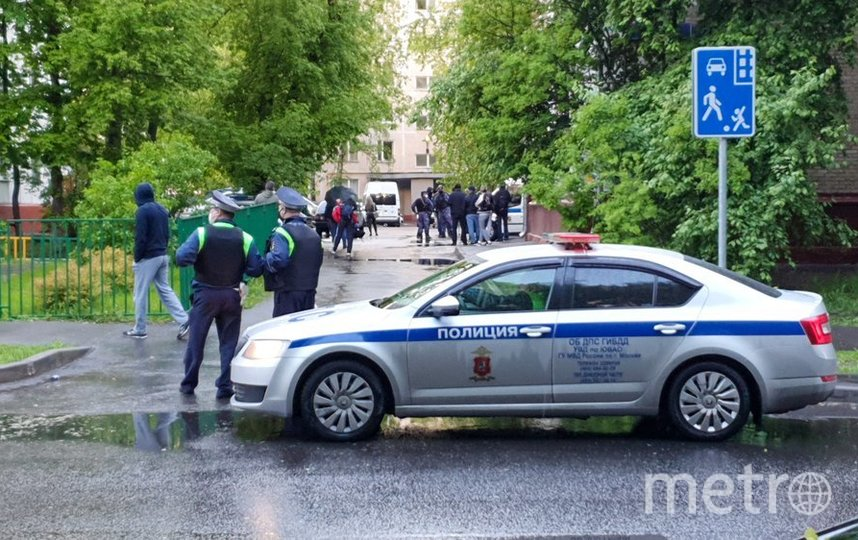 "Полиция начала проверку по факту произошедшего. Фото агентство ""Москва"""
