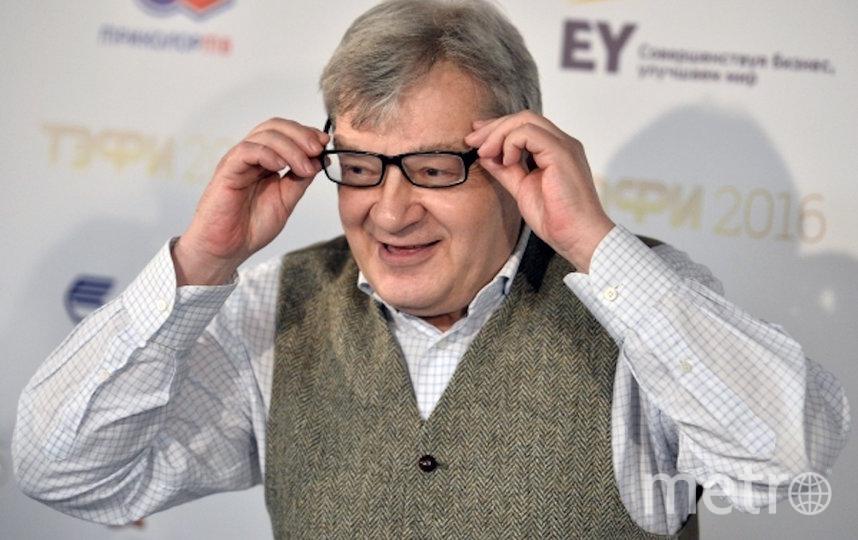Российский телеведущий Александр Беляев. Фото РИА Новости