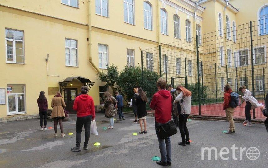 За выпускниками пристально следили. Фото k-obr.spb.ru