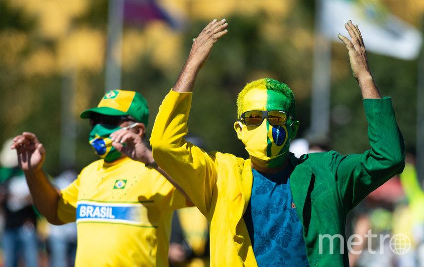 Сторонники Жаира Болсонару. Фото Getty
