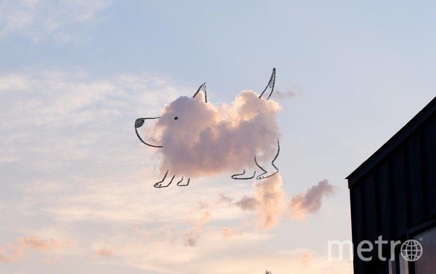 Облака, которые оживил Джадж. Фото https://www.instagram.com/p/CAgZjguHmGa/ и https://twitter.com/chrisjudge