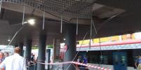 На станции МЦД-2 на западе Москвы обвалилась крыша