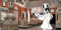 Нарисованный Александр Пушкин готовит к открытию музей искусств имени себя: видео