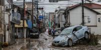 Что натворили мощные ливни в Японии: фото последствий наводнения