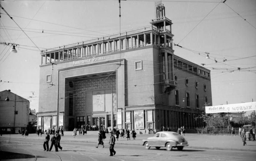 """Кинотеатр """"Родина"""" был построен в 1938 году. Фото предоставлены пресс-службой ADG Group"""