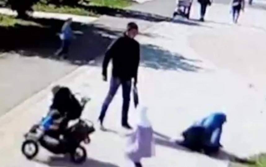 Многие эпизоды избиений попали на камеры. Фото youtube.com/watch?v=cdhdLQwcMTA