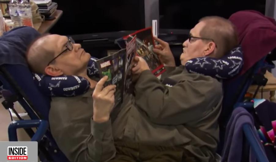 Ронни и Донни Гэлион. Фото канал Inside Edition, Скриншот Youtube