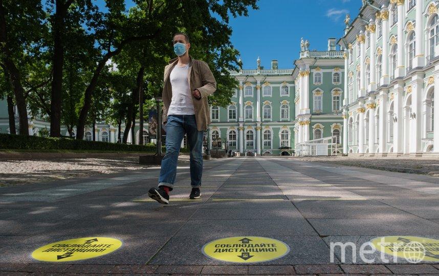 """Эрмитаж готов открыть свои двери. Фото Алена Бобрович, """"Metro"""""""