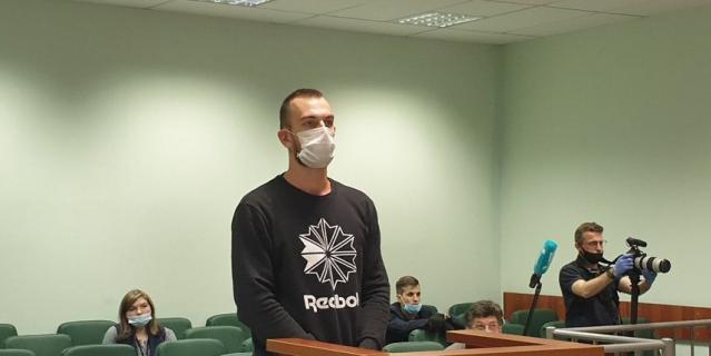 Фото с процесса по уголовному делу в отношении Олега Соколова.