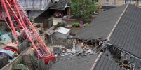 В результате падения подъёмного крана в Лондоне погиб один человек