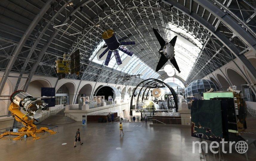 """Центр """"Космонавтики и авиация"""" на ВДНХ открыл двери для желающих 16 июня. Фото агентство """"Москва"""""""