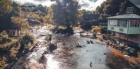 Как затопило жителей Рузы в Подмосковье: видео