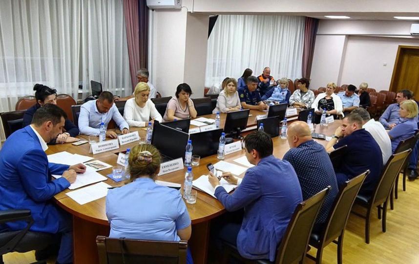 Глава округа Николай Пархоменковечером 8 июля объявил режим ЧС. Фото Instagram @nikolayparkhomenko_rgo