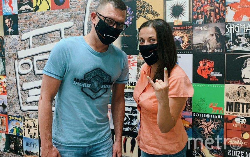 """Экраны и маски будут разыгрываться весь июль. Фото Наше радио, """"Metro"""""""