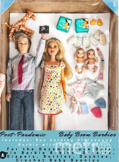 Бывшая модель Тоня Руиз создала кукол, которые отражают будни людей во время пандемии COVID-19. Фото предоставлено героиней материала