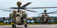 В Петербурге заступили на службу два вертолета Ми-28УБ