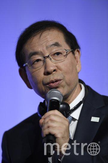 Мэр Сеула Пак Вон Сун. Архивное фото. Фото AFP