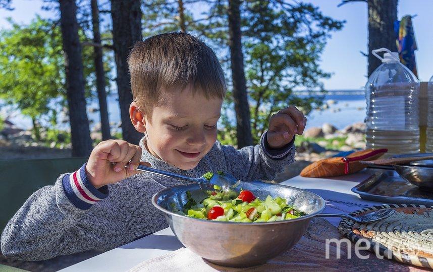Врач советует включить в питание ребёнка как можно больше сезонных овощей. Фото Pixabay