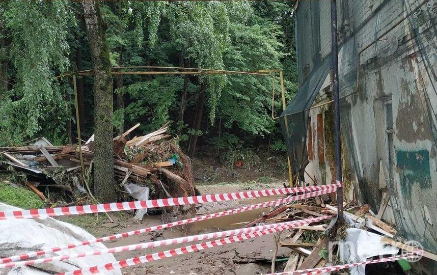 Руза после стихии. Фото скриншот https://www.instagram.com/madam_kvasova/?hl=ru