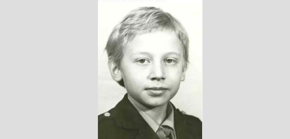 Михаил Трухин в детстве. Фото instagram.com/troukhine