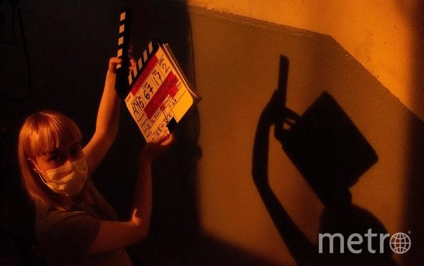 "На съёмках картины ""Молоко"". Фото предоставлено кинокомпанией ""КАРГО"""