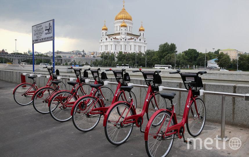 Впервые велопрокат в Москве открылся в 2013 году. Фото Getty