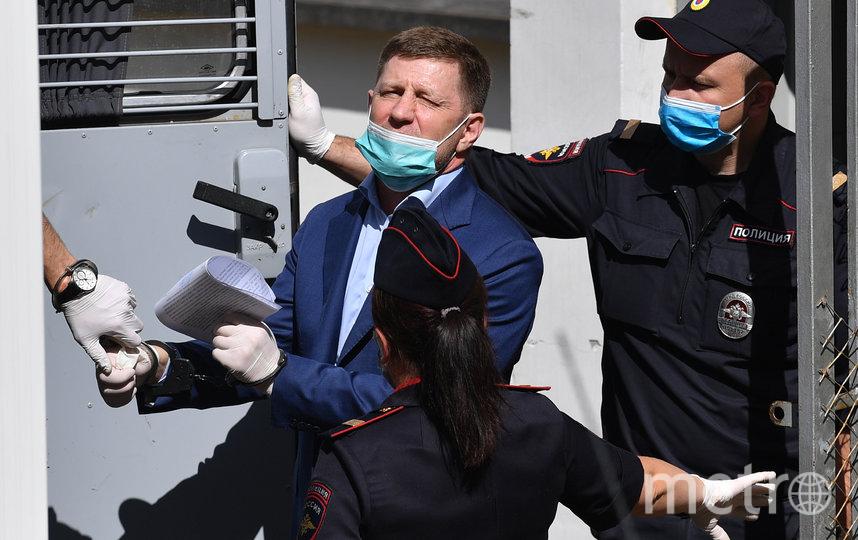 10 июля Басманный суд Москвы арестовал Сергея Фургала по делу об убийствах. Фото AFP
