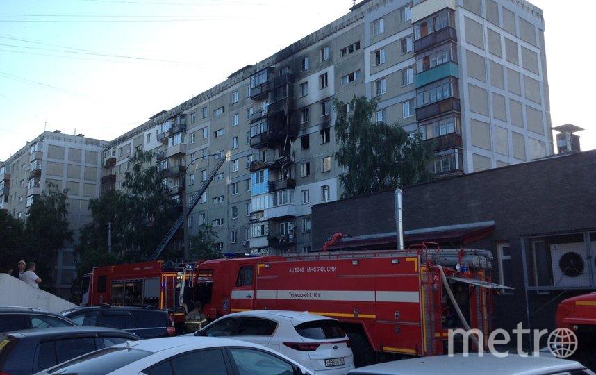 Инцидент в жилом многоквартирном доме произошёл 11 июля рано утром по адресу г.о. г. Н. Новгород, ул. Краснодонцев д.17. Фото 52.mchs.gov.ru