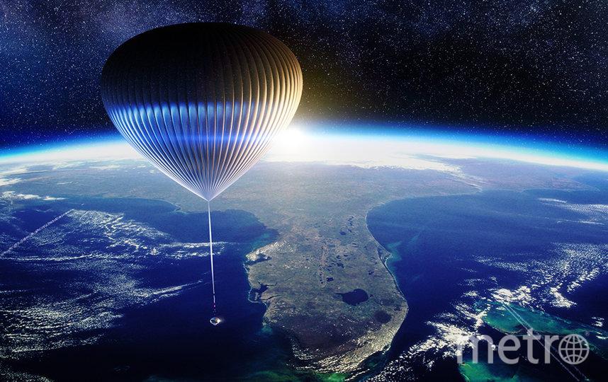 Воздушный шар также будет использоваться учёными для сбора данных. Фото Space Perspective