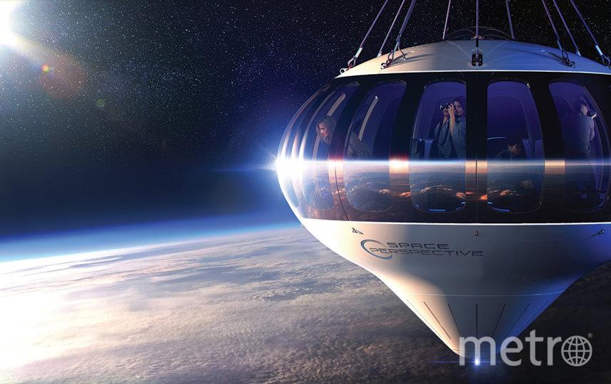 Корабль, на котором туристы отправятся на орбиту, получил название Spaceship Neptune. Фото Space Perspective