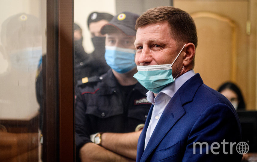 Сергей Фургал был задержан 10 июля. Фото AFP