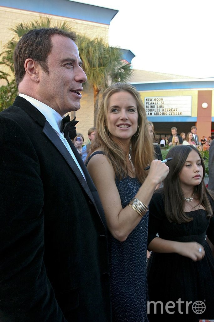 Траволта с женой. 2012 год. Фото Getty
