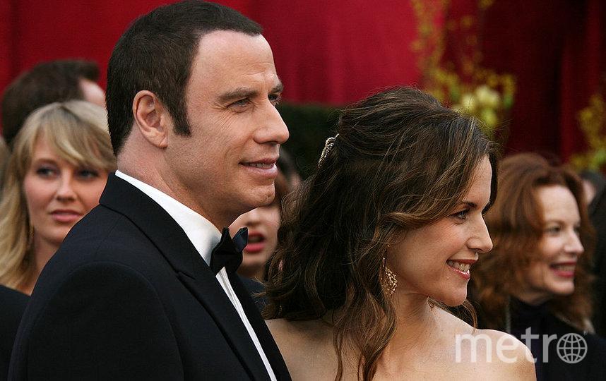 Траволта с женой. 2008 год. Фото Getty