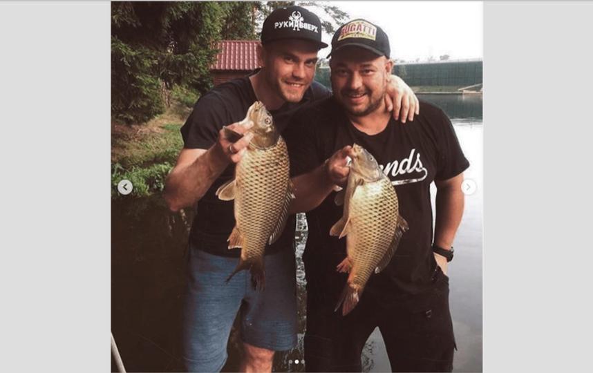 Акинфеев с другом Сергеем Жуковым. Фото instagram.com/teamrussia
