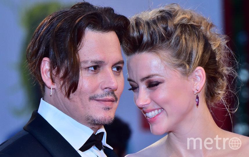 Брак Джонни Деппа и Эмбер Хёрд просуществовал всего год. Фото AFP