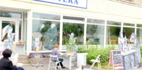 В Петербурге открывается летнее книжное кафе