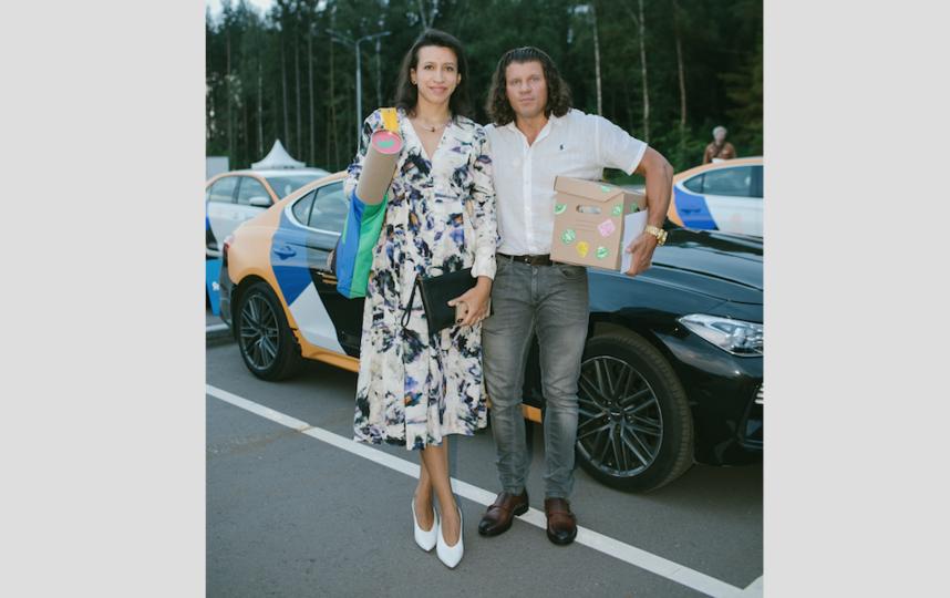 """Елена Борщёва с супругом. Фото Metro, """"Metro"""""""