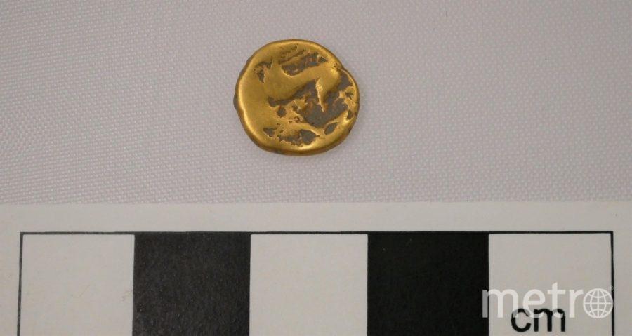 Также недалеко от захоронения обнаружили золотую монету 1-го века. Фото скриншот Instagram @hs2ltd